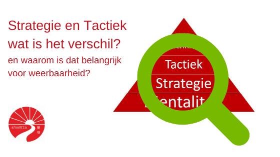 Strategie en Tactiek wat is het verschil?